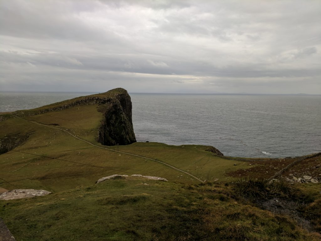On approach at Neist Point