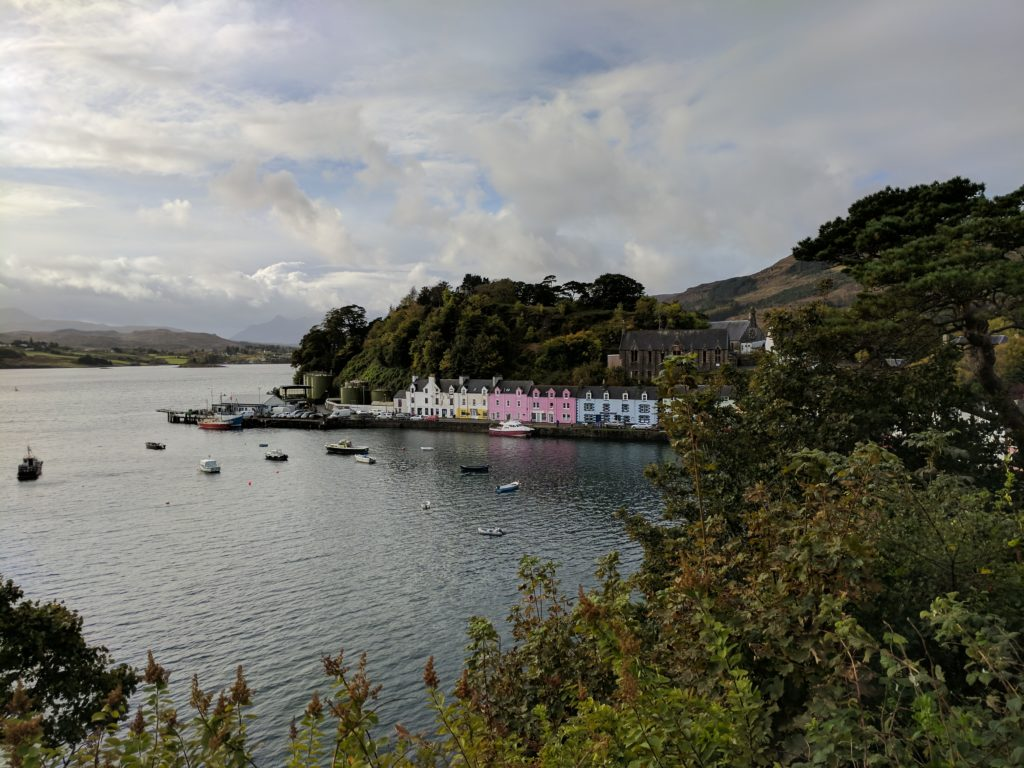 Portree's Harbour in the Day
