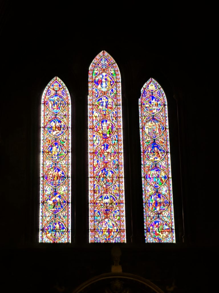Stained Glass in St. Patrick's Cathedral