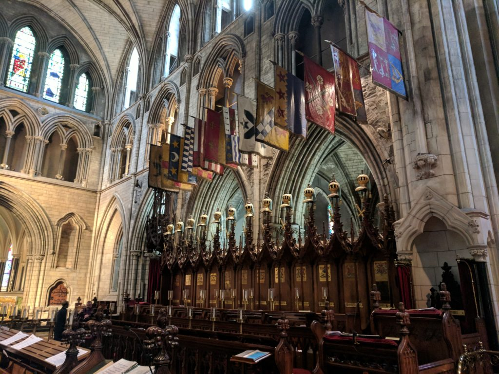 Knight Seats in in St. Patrick's Cathedral