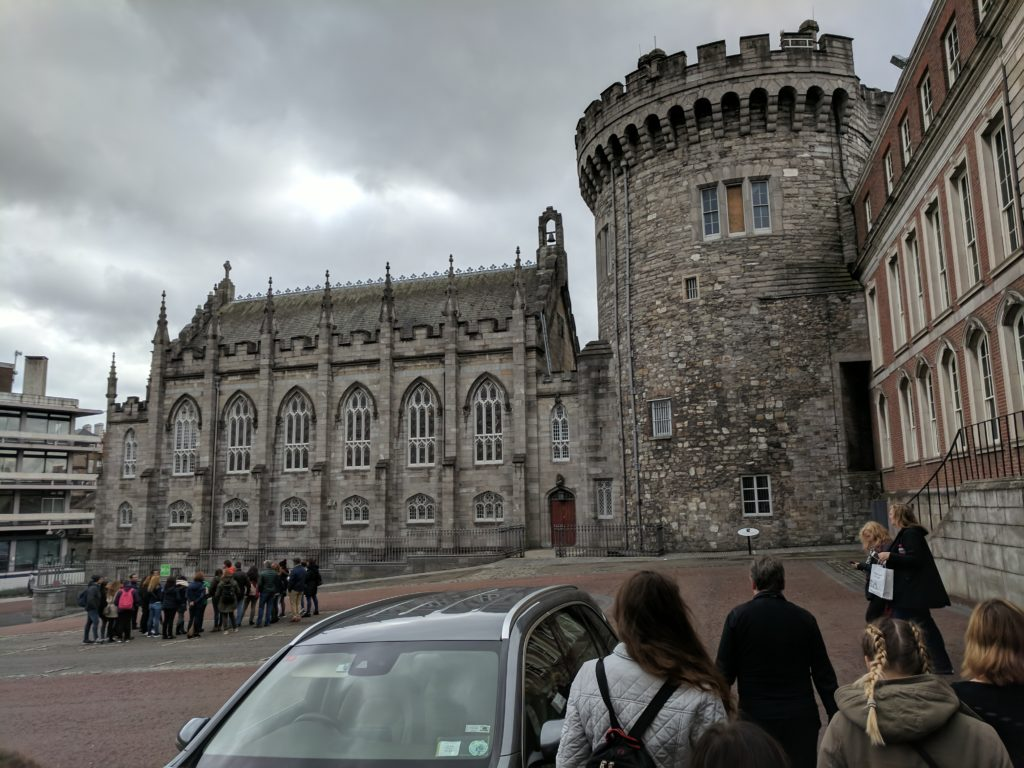 Dublin Castle (one of the wall towers) and their Chapel