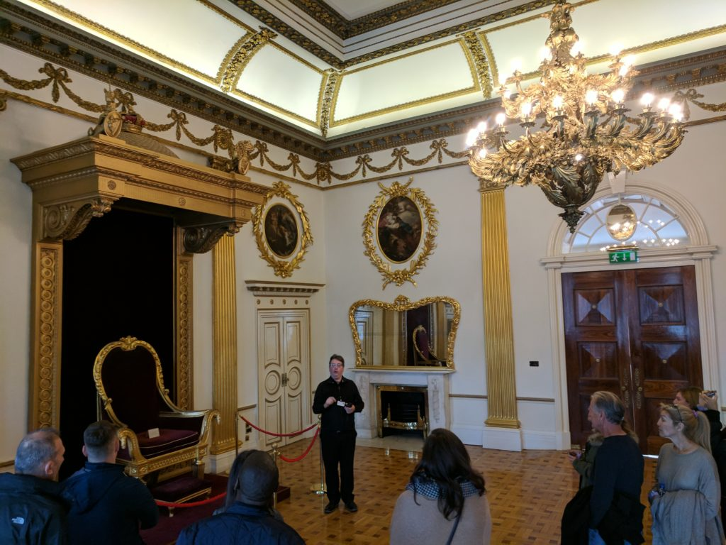 The Queen's Room at Dublin Castle