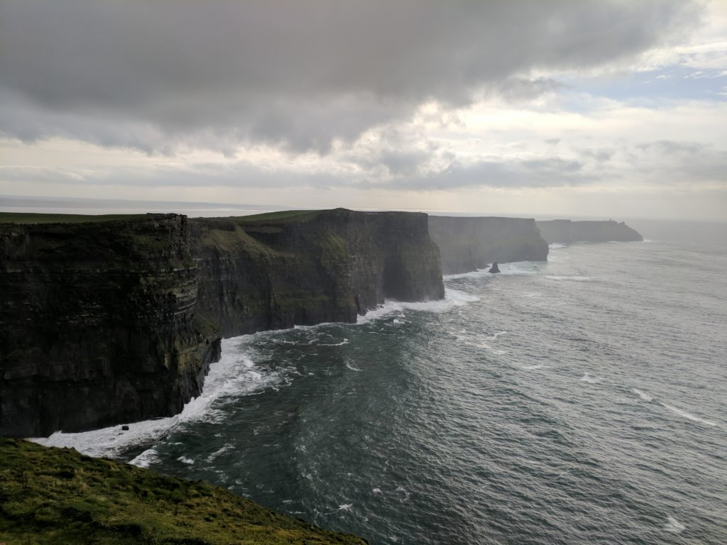 Tower at Cliffs of Moher